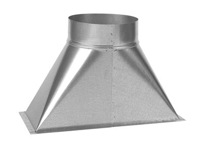 ZE Uebergang ComfoAir XL 3300 700 x 1050 mm / DN 450