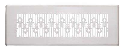 ZE Design-Gitter CLF, Luzern weiß, 350 x 130 mm