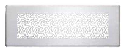 ZE Design-Gitter CLF, Engelberg weiß, 350 x 130 mm