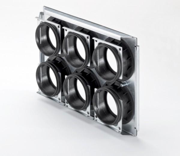 ZE Montageplatte CW-M 320 - 6 x 75/P für ComfoWell