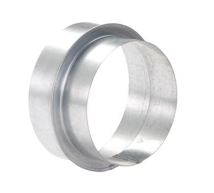 ZE Übergang Comfopipe 150 von 180 mm auf 150 mm, Alu