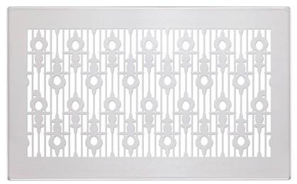 ZE Design-Gitter CLD, Luzern Edelstahl, 260 x 160 mm
