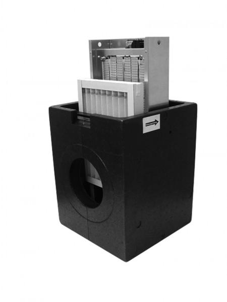 ZE iso-Defrosterheizung DN 160 2 kW, ohne Steuerung