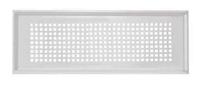 ZE Design-Gitter CLF, Torino weiß, 350 x 130 mm