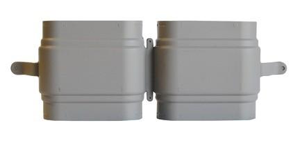 ZE Doppelkanalnippel CK 300 inkl. 4 Lippendichtungen