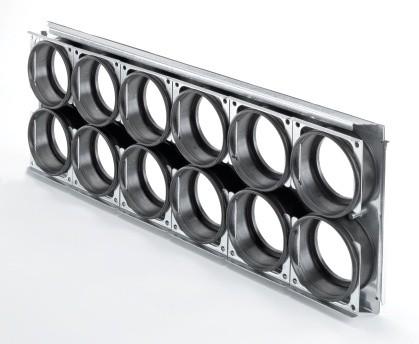 ZE Montageplatte CW-M 625-12DN90/P für ComfoWell