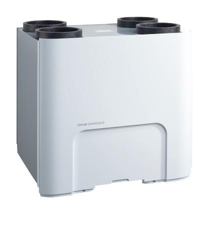 ZE Kühleinheit ComfoCool Q600 L ST mit Zuluftanschluss links