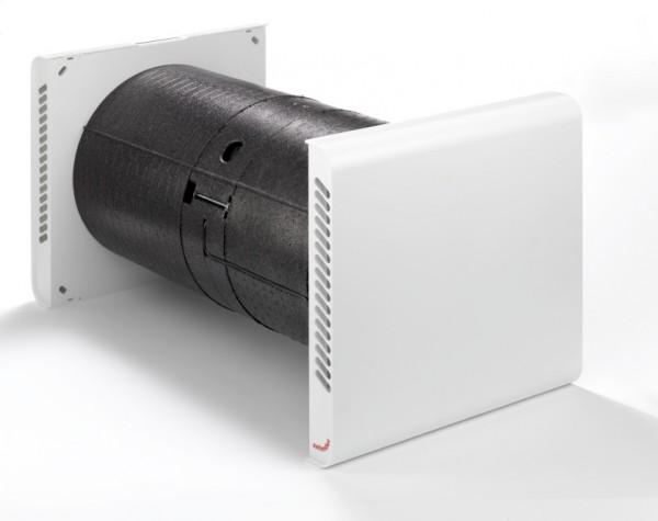ZE Komfort-Lüftungsgerät ComfoSpot 50 Außenwandhaube Kunststoff