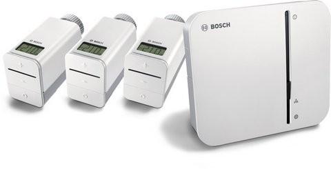 BOSCH SmartHome Heizung Starter-Set Controller, 3x Thermostat