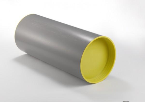 Zehnder Wandeinbaurohr rund für ComfoAir 70 aus Kunststoff, Länge 900 mm 527009120
