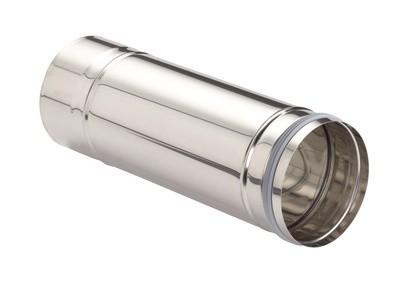 ZE Längenelement ComfoVent 150 L=540 mm mit Dichtung und Klemmband