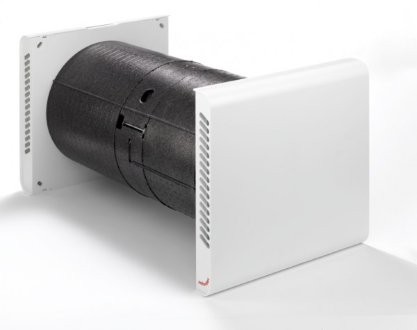 Zehnder Komfort-Lüftungsgerät ComfoSpot 50 Außenwandhaube Kunststoff 527007210