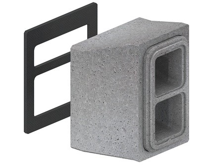 ZE Anschlussbox ComfoPipe plus vertikal