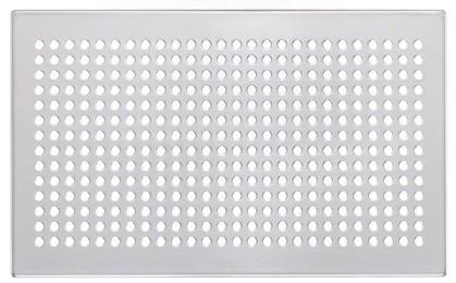 ZE Design-Gitter CLD, Roma Edelstahl, 260 x 160 mm
