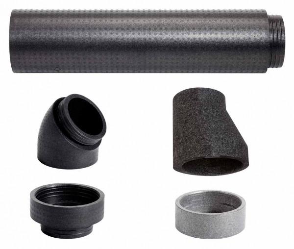 VAILLANT Adapterset Außenluft für recoCOMPACT, EPP-Rohr 246/160mm
