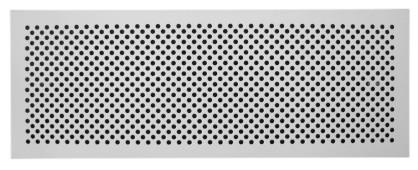 ZE Design-Gitter CLD breit, Pisa weiß, 430 x 160 mm