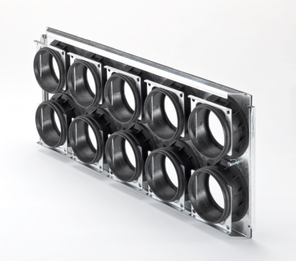 ZE Montageplatte CW-M 520 -10 x 75/P für ComfoWell