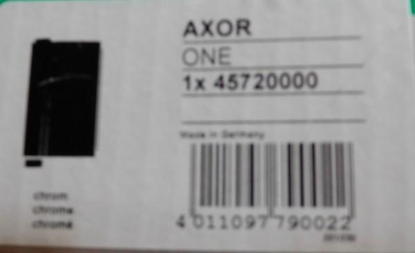 Hansgrohe Axor one Handbrause verschromt 45720000