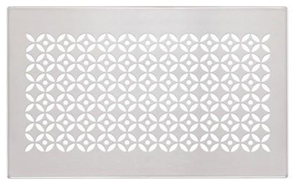 ZE Design-Gitter CLD, Vienna Edelstahl, 260 x 160 mm
