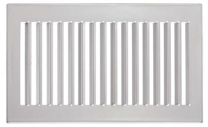 ZE Design-Gitter CLD, Verona Edelstahl, 260 x 160 mm