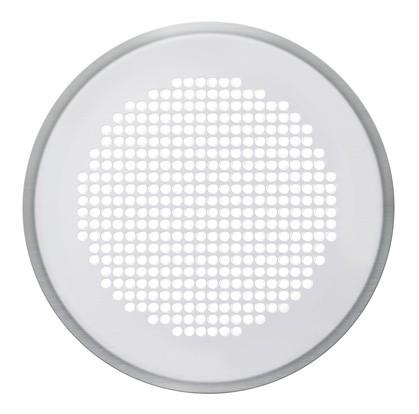ZE Design-Gitter CLRF/TVA Venezia weiß, D = 160 mm, Filter