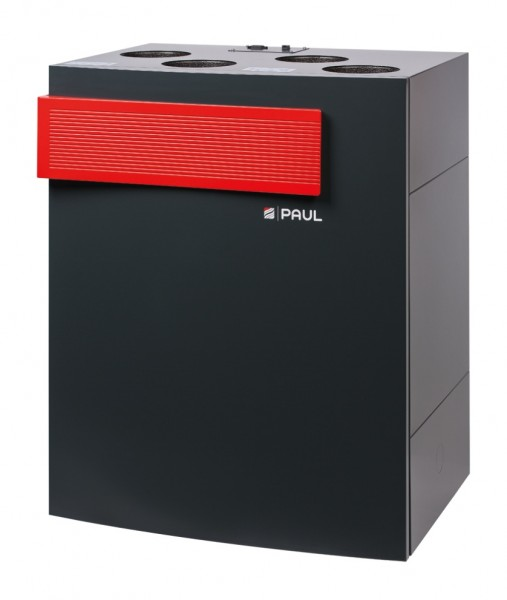 Zehnder Paul Lüftungsgerät novus 300 VSL ohne Bedieneinheit 527003740