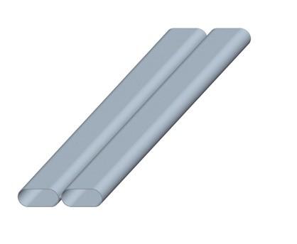 ZE Doppelkanal CK 300 Länge = 150 cm