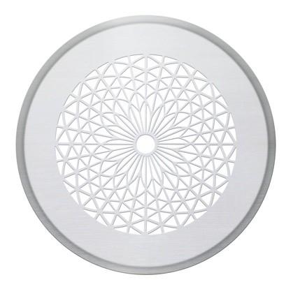 ZE Design-Gitter CLRF/TVA, Sacre cour Edelstahl, D = 160 mm, Filter