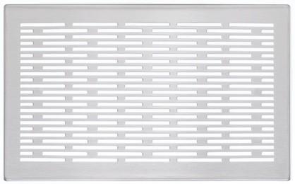ZE Design-Gitter CLD, Genua Edelstahl, 260 x 160 mm