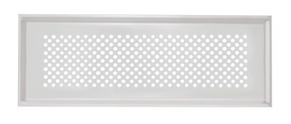 ZE Design-Gitter CLF, Pisa Edelstahl, 350 x 130 mm