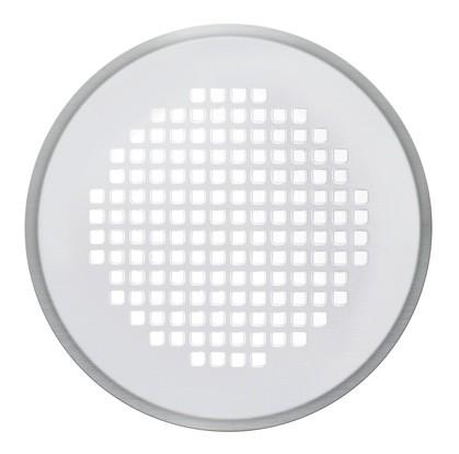 ZE Design-Gitter CLRF/TVA, Torino Edelstahl, D = 160 mm, Filter