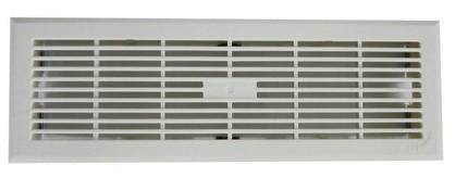 ZE Design-Gitter CLF, Kunststoff weiß, 330 x 110 mm