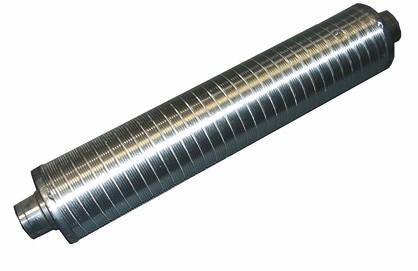 ZE Telefonie-Schalldämpfer 125 DN 125, Länge = 1000 mm