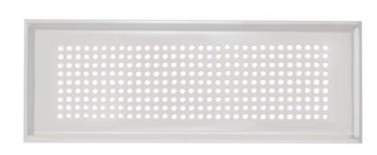 ZE Design-Gitter CLF, Roma Edelstahl, 350 x 130 mm