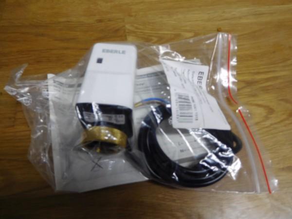 Eberle elektrischer Stellantrieb TS Slimline 230 Volt 0498 1001 1015 stromlos geschlossen