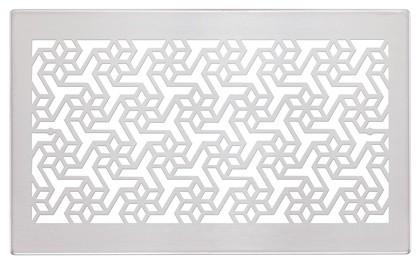 ZE Design-Gitter CLD, Engelberg Edelstahl, 260 x 160 mm