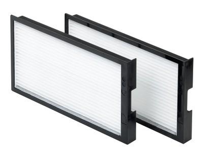 Zehnder Filterset ComfoAir 200 225 G4/F7, Inhalt 2 Stück 400100013