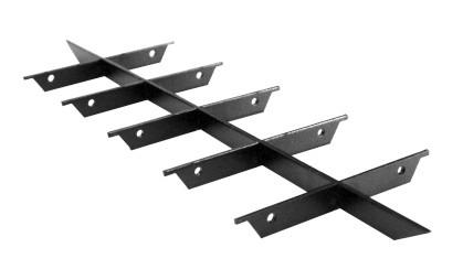 ZE Stützkreuz Bodeneinsatz für Design-Gitter CLF