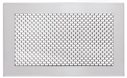 ZE Design-Gitter CLD, Grid two Edelstahl, 260 x 160 mm
