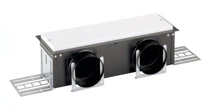 ZE Luftdurchlassgehäuse CLD-P 90 breit 2 x 90, seitlich, Höhe 115 mm