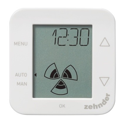 Zehnder Bedieneinheit ComfoSense 55 ComfoAir 160/180/200/350/550/225 655010200