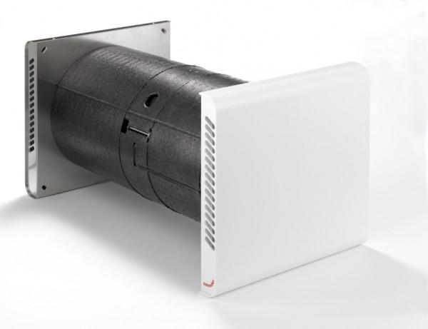 Zehnder Komfort-Lüftungsgerät ComfoSpot 50 Außenwandhaube Edelstahl 527007220