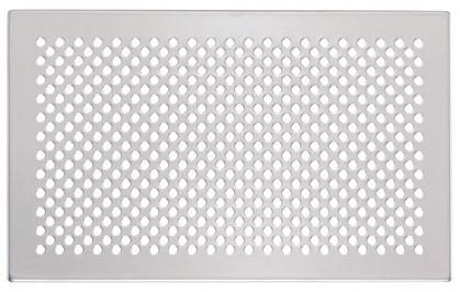 ZE Design-Gitter CLD, Pisa Edelstahl, 260 x 160 mm